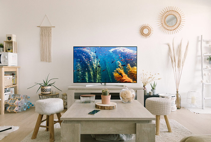 テレビがある部屋